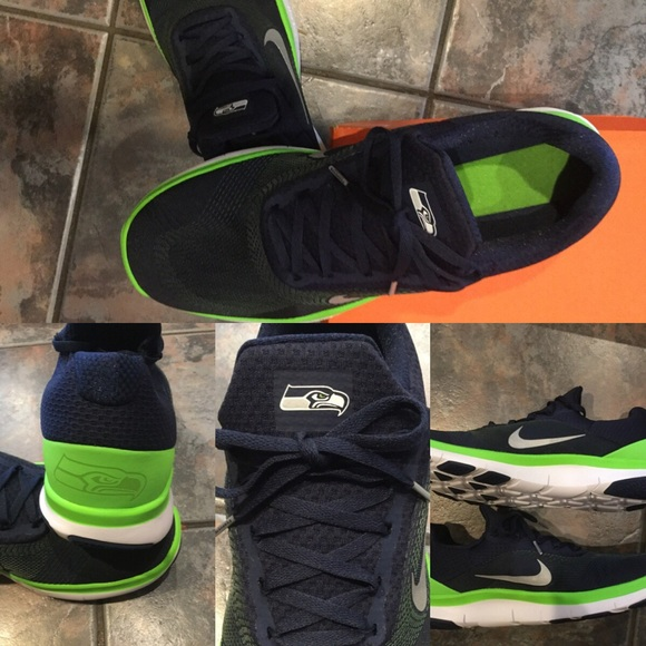 new arrival 4eea0 b17dc New Nike Seattle Seahawks shoes